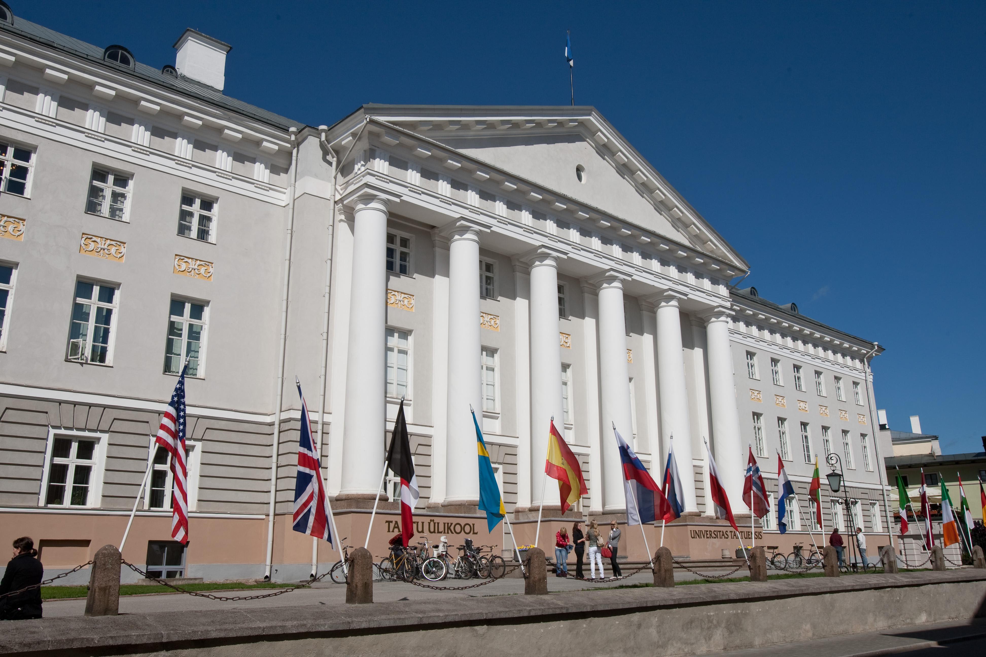 University of Tartu main building. Photo by Andres Tennus