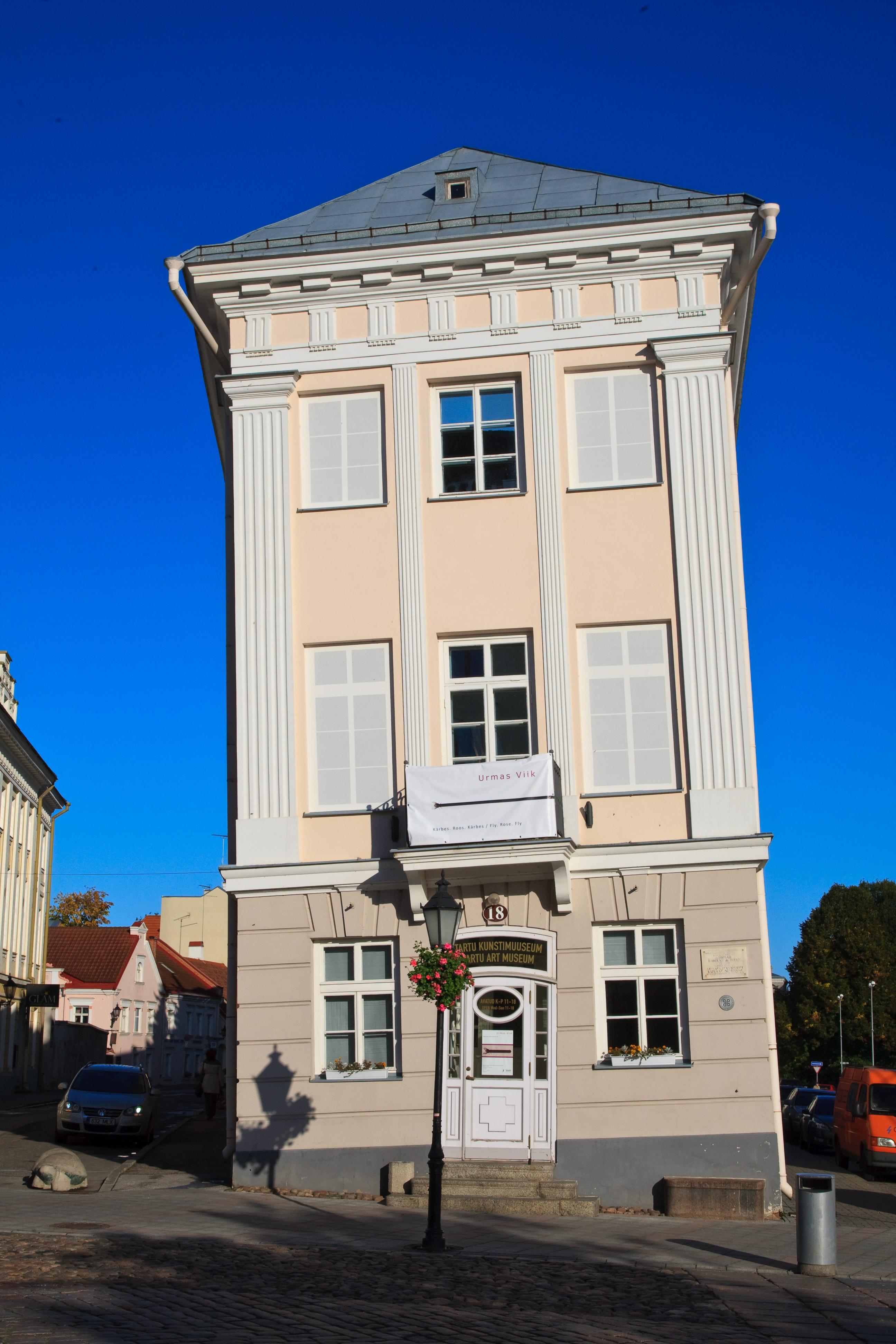 Tartu Art Museum. Photo by Andres Tennus