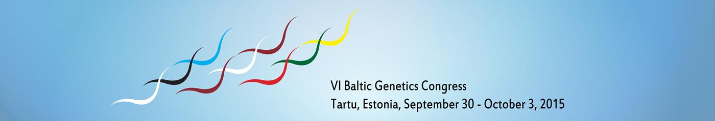 VI Baltic Genetics Congress